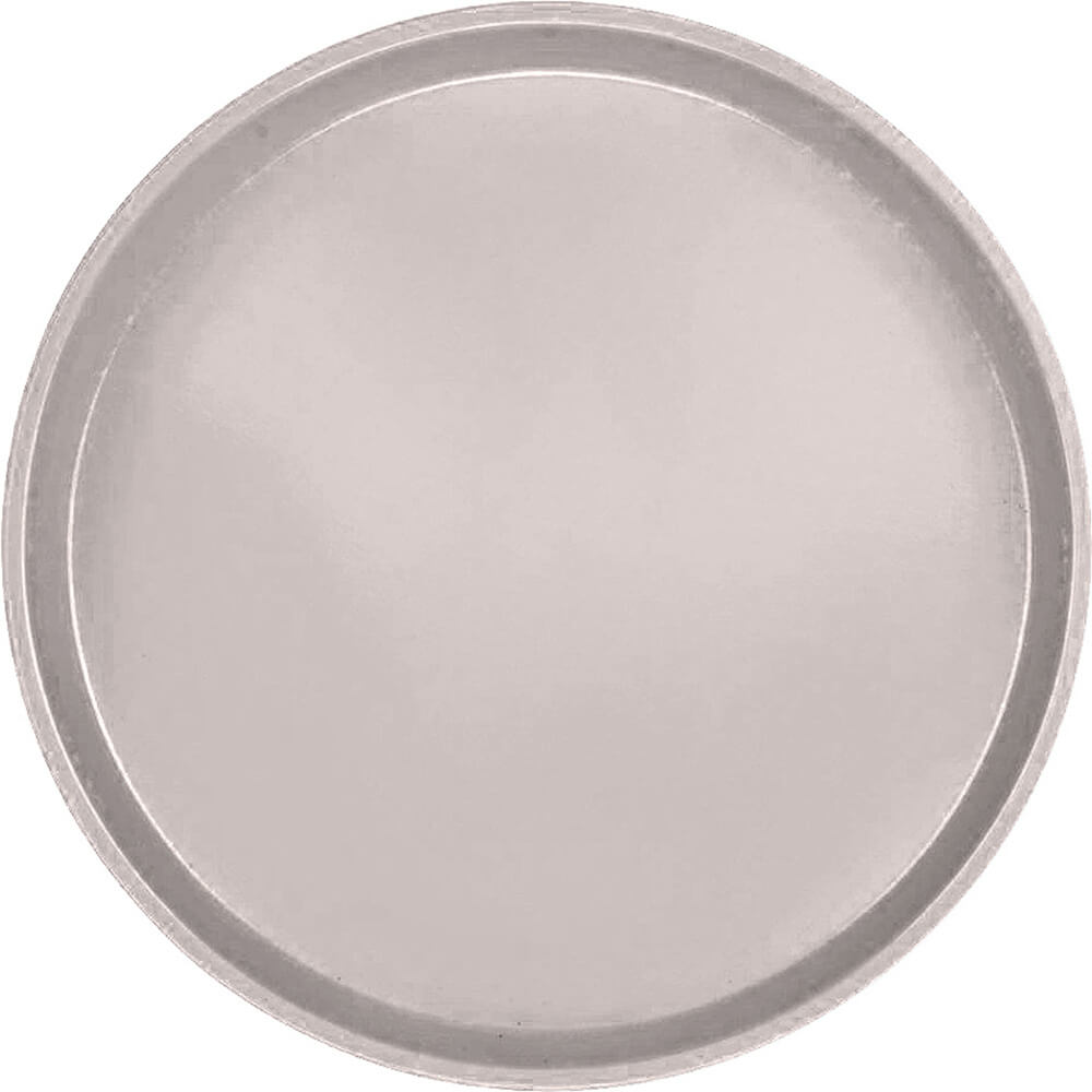 "Taupe, 14"" Round Serving Tray, Fiberglass, 12/PK"