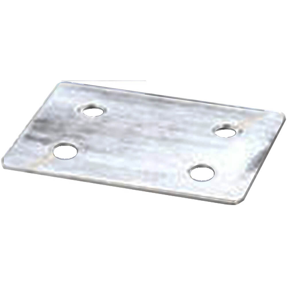 "3"" Caster Impact Plate for Hand Sink Carts, Food Bars, Camdollies, Caddies, Carts, Carriers, Beverage Bars, ES Register Stands & Versa Models"