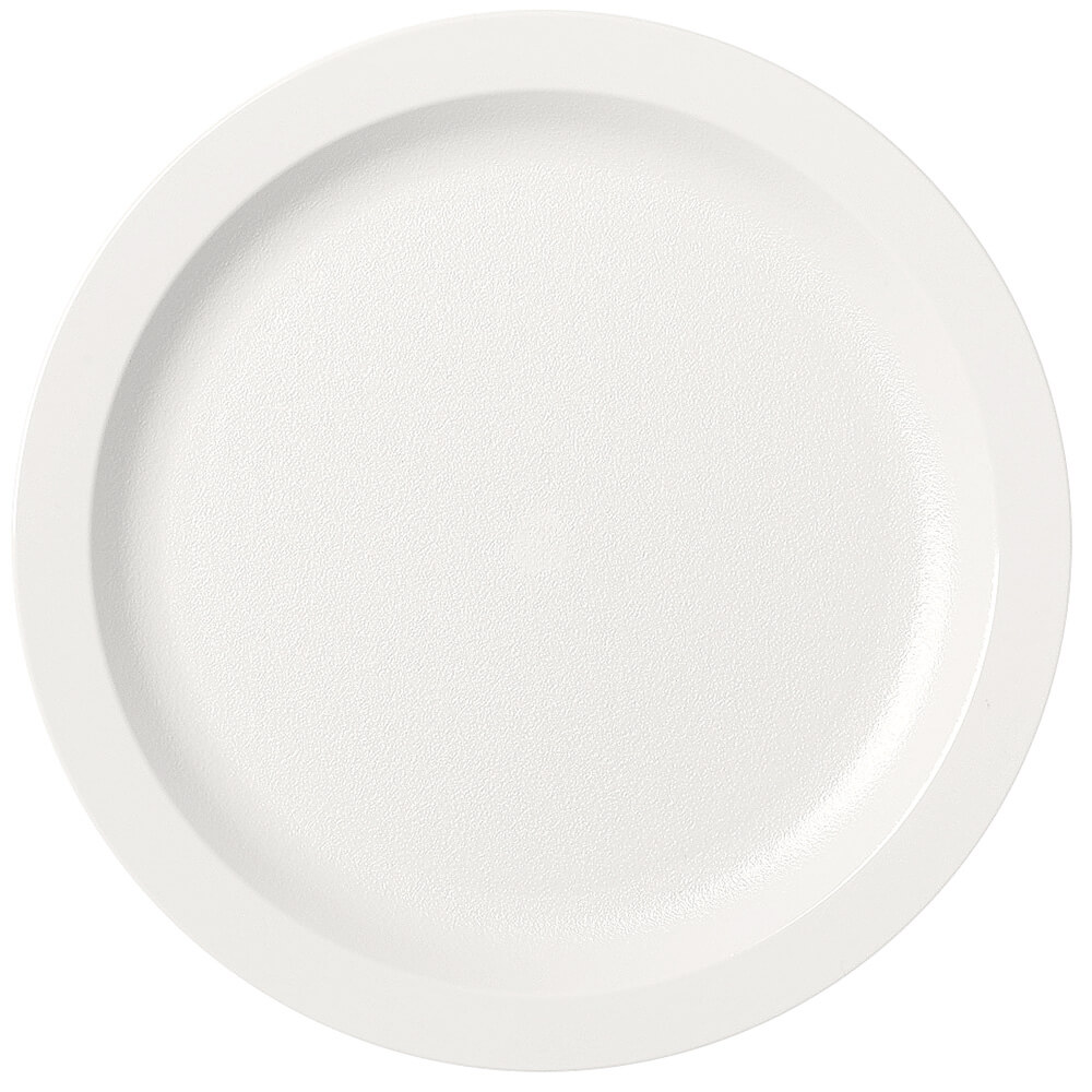 "Ivory, Shoreline Meal Delivery 9"" Ceramic Plate, 24/PK"