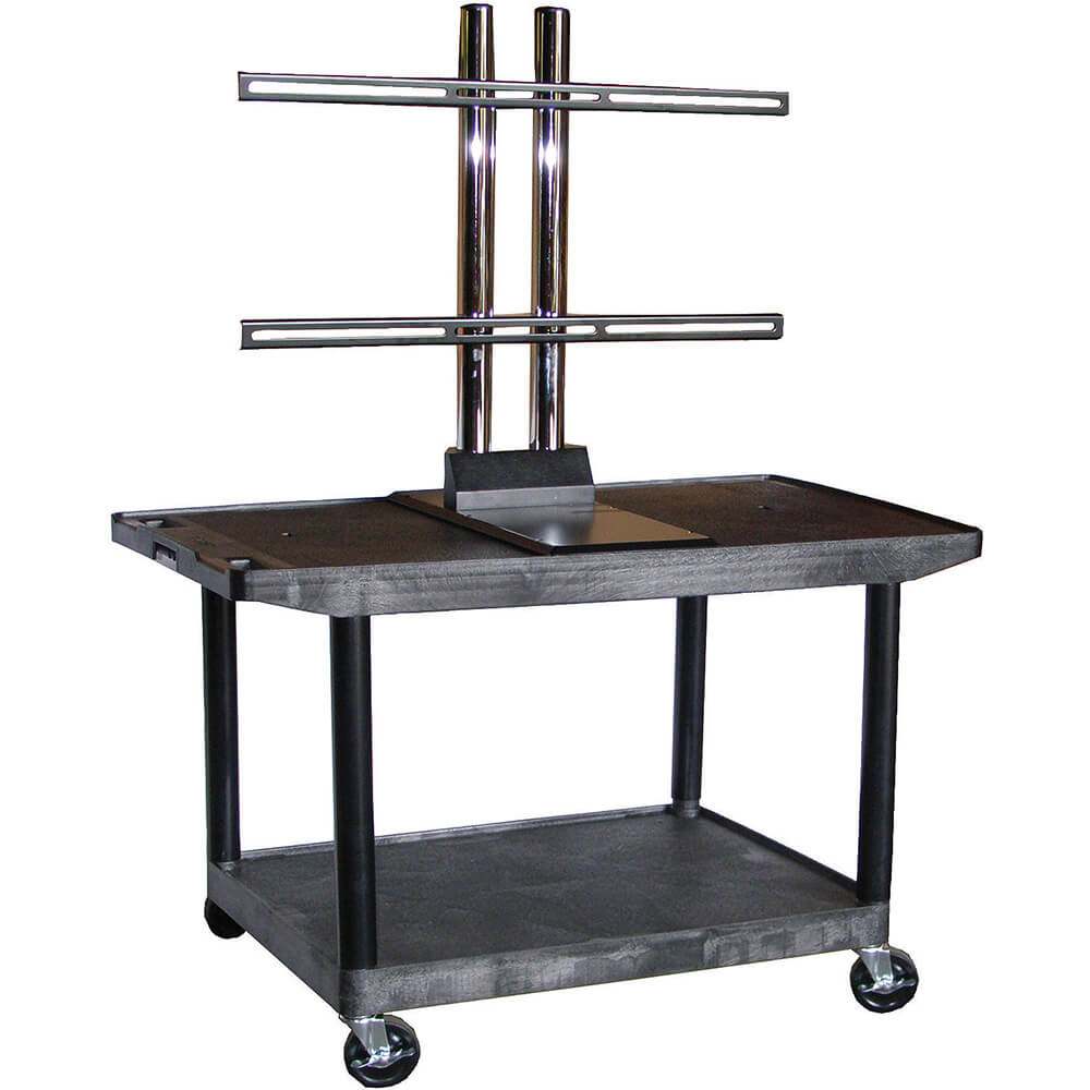 "27"" Tall Mobile Plasma/LCD Open Cart"