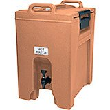 Coffee Beige, 10.5 Gal. Insulated Beverage Dispenser, Ultra Camtainer